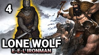 "Lone Wolf EEL Ironman #4 ""Mastering Swords!"" -  Battle Brothers Warriors of the North Gameplay"