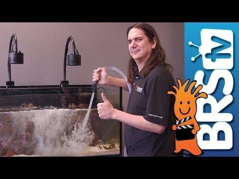 Making Aquarium Water Changes Easier Ep 2 Saltwater