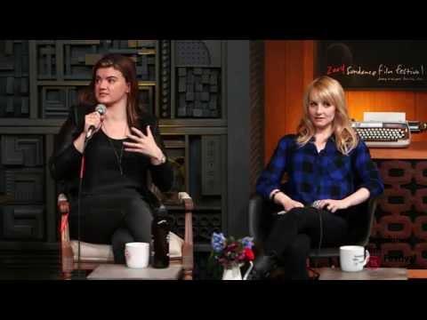 Cinema Cafe: Melissa Rauch And Leslye Headland  2015 Sundance Film Festival video