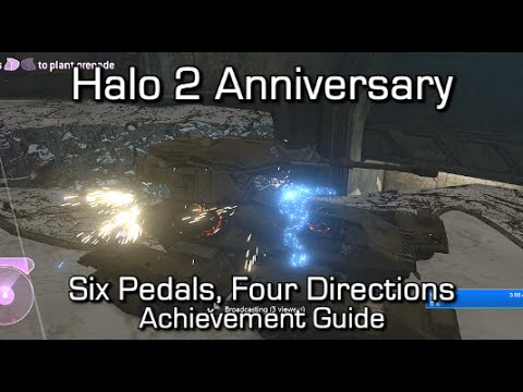 Halo 2 Anniversary - Six Pedals, Four Directions Achievement Guide