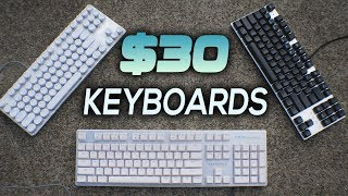 Are $30 Budget MECHANICAL Keyboards Good?