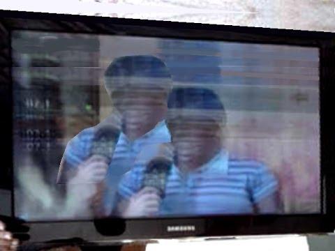 TV LCD Samsung c/ vertical trêmulo e imagem sobreposta: Como consertar este defeito!