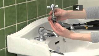 how to change a tap washer video