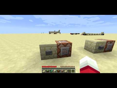 Minecraft 1.6.1 Pre-Release Overview -- PlaySound. Saturation Effect and Attribute Modifiers