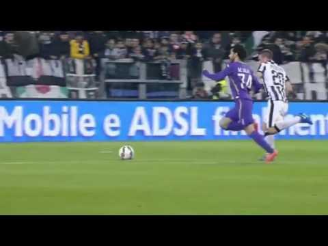 Mohamed Salah FANTASTIC GOAL !!! Juventus v.s Fiorentina 0 - 1 05 03 2015