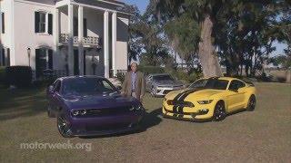 MotorWeek | Comparison Test: Muscle Car Challenge - V8s