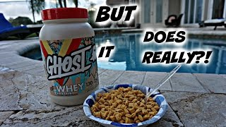 GHOST WHEY REVIEW!! DOES IT REALLY TASTE LIKE CEREAL MILK?!