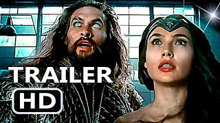 JUSTICE LEAGUE 4 Minutes Trailer (Comic Con Exclusive)