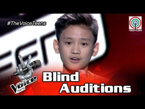 The Voice Teens Philippines Blind Audition: Johann Ramirez - Fly Me To The Moon