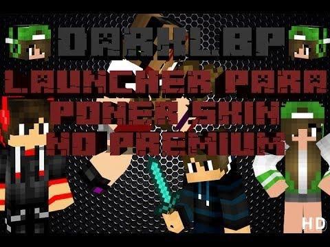Launcher de Minecraft - DarkLBP   Skin en minecraft No premium   Todas las versiones   Albamr751