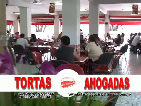 La Ruta Gourmet GDL  Las Famosas tortas ahogadas