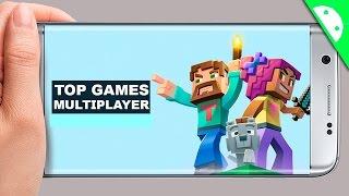 Os 5 Jogos MULTIPLAYER Para Android l Leves e Divertidos #01