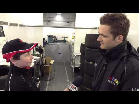 Colin Turkington - BTCC Donington 2014 Pre Race eBay motors racing