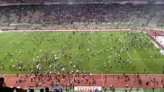 Beşiktaş - Galatasaray Maçı Olayları Görüntüleri...