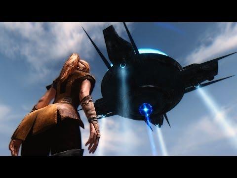 Skyrim Mods Review 39: UFO in Skyrim?