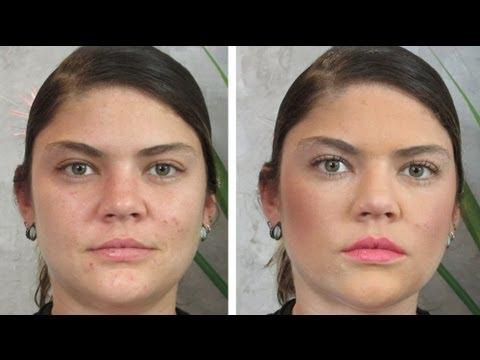 Maquillaje para piel con acné o imperfecciones - YouTube