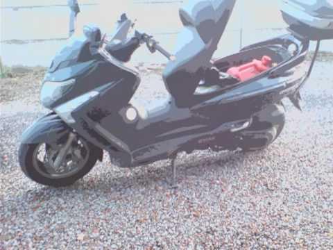 Mon scooter SYM GTS 300i EVO , 2009...