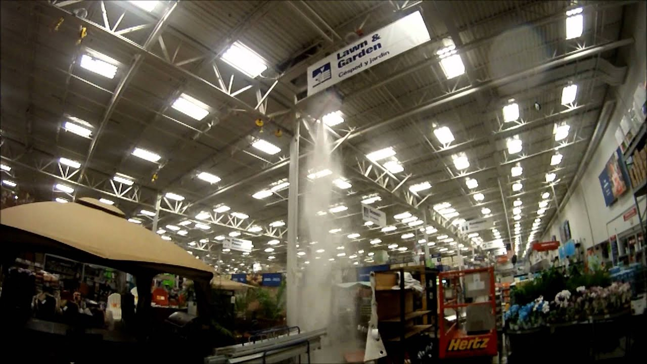 Fire Sprinkler Fail At Lowes Youtube