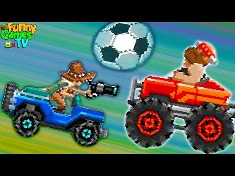 DA Sports #2 игра мультик про машинки битва тачек играем гоняем в футбол на машинках видео для детей