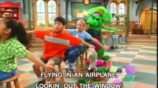 Watch Barney Airplane Song video