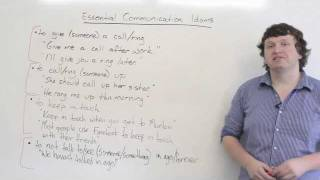 5 Essential Communication Idioms in English