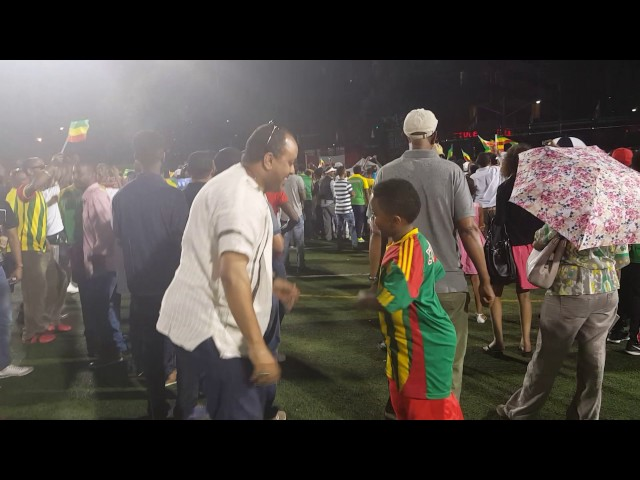 Ethiopian dance with my son