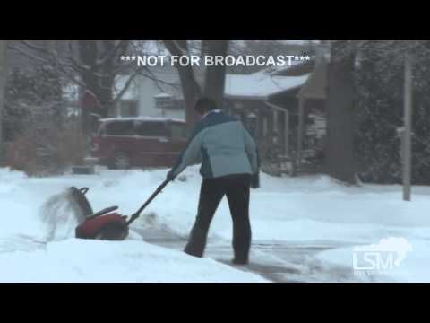 2-1-15 Toledo, Ohio Snow / Spinout