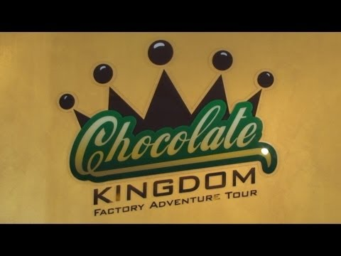 Chocolate Kingdom Adventure Factory Tour In Kissimmee FL - Interview And A Look at Their Chocolate!