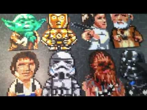 Star Wars Perler Bead Sprite Collection