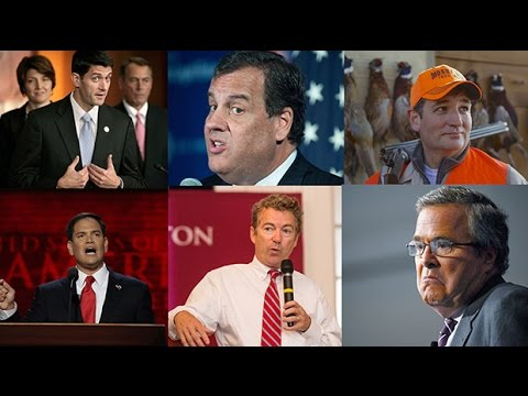 Who are the Republican challengers for 2016?