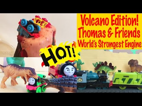 Volcano Edition - Thomas and Friends Trackmaster World's Strongest Engine