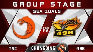 TNC vs 496 [EPIC] Chongqing Major 2018 SEA Highlights Dota 2