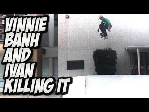 VINNIE BANH & IVAN MONTEIRO KILLING IT !!! - A DAY WITH NKA -