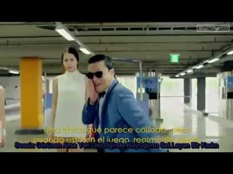 PSY Gangnam Style Turkish Sub Türkçe Altyazılı arc