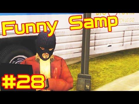Funny SAMP #28 Воспитание гетто- тащеров!