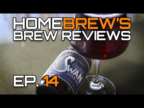 HomeBrew's Brew Reviews: Lagunitas (Heineken) Dark Swan.