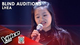Lhea Llego - Basang-Basa Sa Ulan | Blind Auditions | The Voice Kids Philippines Season 4