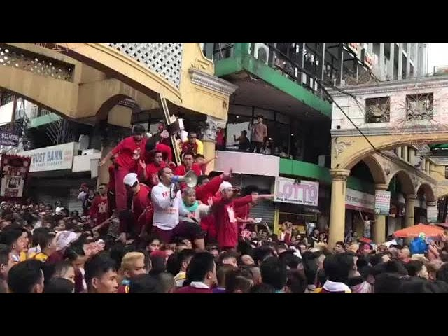 Black Nazarene back in Quiapo Church after 8-hour procession