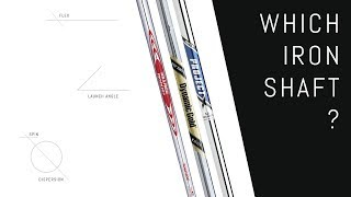 Project X vs. Dynamic Gold vs. Nippon Modus | Iron Shafts