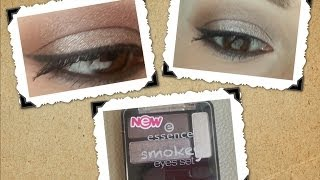 Essence Smokey Eyes ile Göz Makyajı (Tutorial)