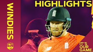 Pooran & Bairstow Tee Off In T20 Opener | Windies vs England 1st T20I 2019 - Highlights