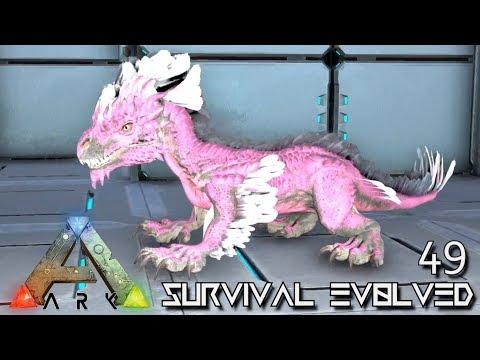 ARK: SURVIVAL EVOLVED - BABY ALPHA ROCK DRAKE & ISO UPDATE E49 !!! ( ARK EXTINCTION CORE MODDED )