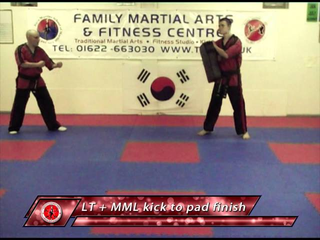 Family Martial Arts: Kickboxing in Gravesend Demonstration