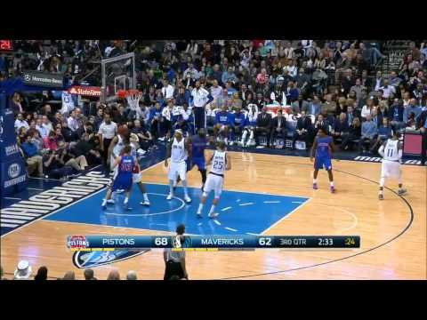 Detroit Pistons vs Dallas Mavericks Full Highlights January 7, 2015 NBA