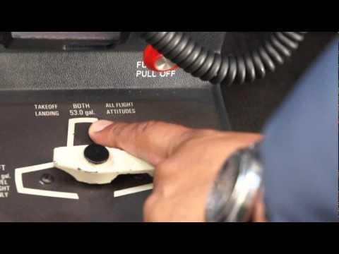 Pre-Vuelo Preparacion de Cabina C172 Checklist Pre Flight Inspection Student Training Pilot CAI
