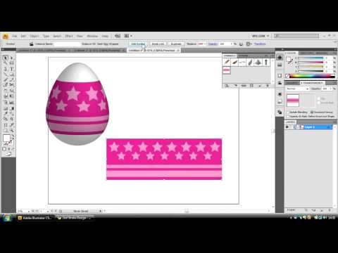 Adobe Illustrator Tutorial - Creating an Easter Egg