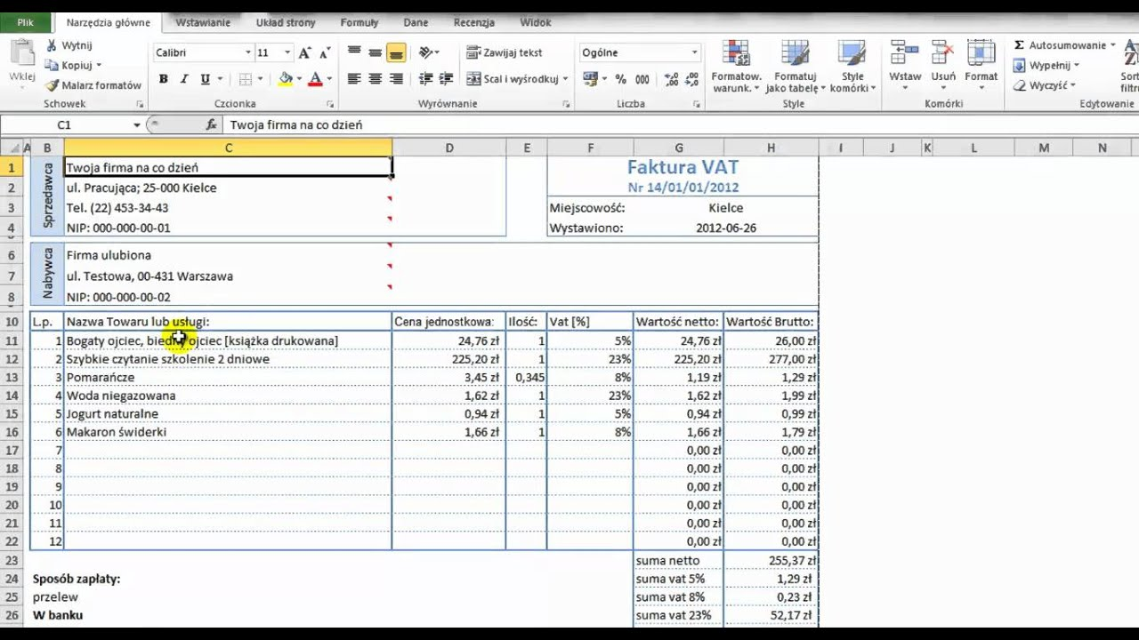 how to add vat to a price in excel