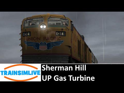 Let's Play Train Simulator 2016 - Sherman Hill, UP Gas Turbine