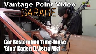 Classic Car Restoration Time Lapse Opel Kadett D Astra Mk1