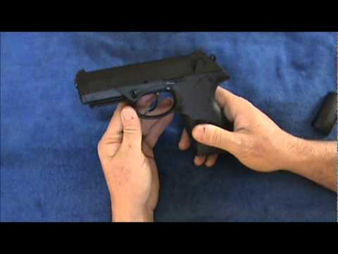 Beretta PX4: Changing Backstrap and Review